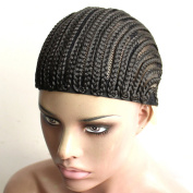 Royalvirgin Cornrows Cap For Easier Sew In,Braided Wig Caps Crotchet,Caps for Making Wig,Glueless Hair Net Liner Crochet Wig Caps,1pc/lot