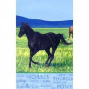 Pony Party Supplies Table Cover