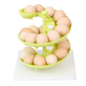 Plastic Egg Run Basket Egg Skelter Egg Dispenser Holder for Medium to Large Eggs