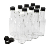 NiceBottles - Hot Sauce Bottles, 150ml - 12 Pack