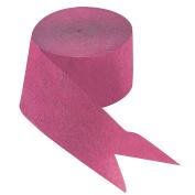 Hot Pink Paper Streamer