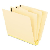 Manila End Tab Classification Folders, 2 Dividers/Six-Section, Letter, 10/Box, Sold as 2 Box, 10 Each per Box