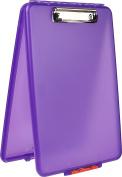 Dexas Slimcase Storage Clipboard, Purple
