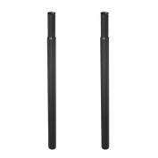 Height Extensions for Heavy Duty Clothes Rail - 80cm , Black