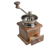 HAOYISHANG Classical Wooden Manual Spice Coffee Grinder Kitchen Tool High Quality with Hand Crank