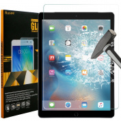 iPad Pro 9.7 Screen Protector, iPad Air / iPad Air 2 Screen Protector, Rusee Tempered Glass [High Defintion][Bubble Free][9H Hardness] Screen Protector Film for iPad Air/iPad Air 2/iPad Pro 25cm