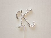 Diamante Letters, A - Z Available, Glamorous, Stunning, Rhinestone Cake Toppers
