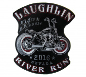 2016 Laughlin, Nevada 34th River Run Rally Iron On Patch