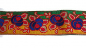 Sari Border Designer trim floral trim decorative Trim-Price for 1 Yard-IDL56