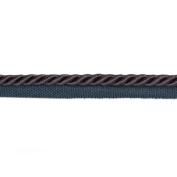Expo 0.6cm Twisted Cord w/Lip Navy Blue