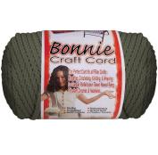 Bonnie Macrame Craft Cord 4mmx100yd-Smoke Grey