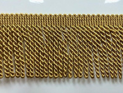 6.4cm Bullion Fringe Trim BUF-1/12 (Antique Gold) Sod by the yard