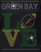 Green Bay Football Iron on Transfer