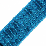 5yards Beaded 5row Sequin Lace Trim Embroidered Trimming Motif Applique Scrapbooking Sewing Accessories for DIY T1603