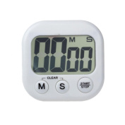 CreazyDog Magnetic Kitchen Digital LCD Count Down Up Counter Timer Alarm Clock