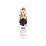 Beauty Works Deluxe Clip-In Hair Extensions 46cm - Ebony 1B