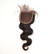 30cm 5 A 'Brazilian Hair Body Wave Lace Top Fixing - Natural Colour