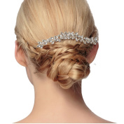 VKFashion Pave Crystal Bridal Hair Comb Rhinestone Wedding/Prom/Party Hair Comb Accessories Style A01