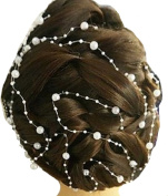 Bridal Hair Accessories Hairstyle Pearl Jewels