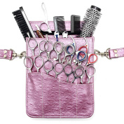 Scissor Pouch Hairdressing Equipment Holster Kassaki Bag Lilac for Sharp Scissors Combs & Brushes