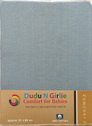 Dudu N Girlie Chicco Next 2 Me Crib Cotton Jersey Fitted Sheets,51cmx85cm