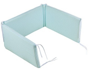 Little Dutch - Cot Bumper Sweet Mint Green (for Beds 60 x 120 cm and 70 x 140 cm other