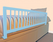 Safetots Extra Wide Wooden Bed Guard Blue