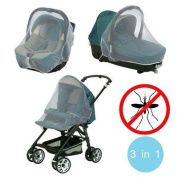 Universal Mosquito Net for Cot and Car