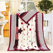 BDUK Summer Flannel Blanket Bed Single Cloud Stingrays Down Blanket Blankets And Air-Conditioning Double Towel Was
