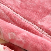 BDUK The Autumn Winter Double Blanket Wedding Red Blankets Duplex Raschel Blanket Single Double Lint-Free Cloth