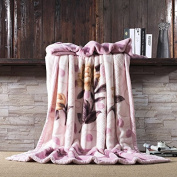 BDUK Double Ultra Soft Thick Blanket 9 Catties Embossing Double 2 M Winter Blankets Wedding Big Plush Blanket
