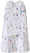 HALO SleepSack Baby Swaddle 100% Cotton-Small 3-6 Months-Multi Triangle Print