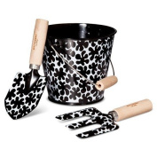 Marimekko for Target Kids Gardening Tool Set 3 pc. - Paprika Print - Black TRG