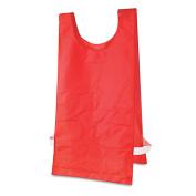Heavyweight Pinnies, Nylon, One Size, Red, 1 Dozen by CHAMPION SPORT . : Office Equipment & Equipment Supplies / General Building)