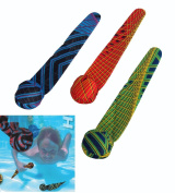 COOP Hydro Dive Streamers Pool Dive Toy - 3 pack - Matrix pattern