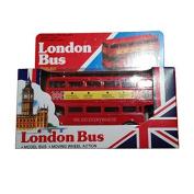 Diecast London Model Bus (LARGE)! With Moving Wheels! Souvenir / Speicher / Memoria! Diecast Metal Buses! Royally . gifts! Mod.le de Voiture / Modellautos / Modello di Auto / Modelo de Coche! by TB