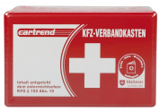 Cartrend 50209 First Aid Bag for Car, Contents for Austria/ 102 ABS 10