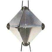 Radar reflector 34x34x47