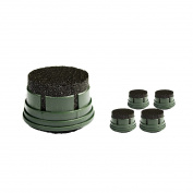 Diercon Tactical Water Microfilter Replacement Activated Carbon Filter(5pcs + One free) for TW01