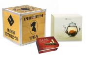 Creano Wooden Decoration / Tea Box Gift Set, Brown, 18 cm