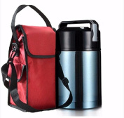 Yxhflo Maximum Capacity Of Stainless Steel Boxes Stew Pot Roast Thermos Jug Mentioned In The Inner Pot And The Soup Pan Keep-Warm Lunch Box Bag B