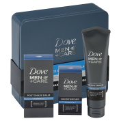 Dove Men+Care Essential Face Care Tin Mens Gift Set
