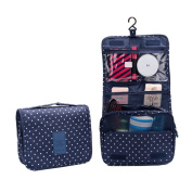 JSbetter Toiletry Bags,Portable Folding Travel Toiletry Hanging Wash Bag with Hook Ladies Make Up Cosmetic Bags Organiser