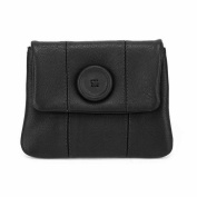 Mala Leather Button Coin Purse