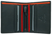 Visconti Mens Quality Leather Slimline Wallet Credit Cards & Bank Notes -Gift Boxed
