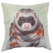 Vipwind Animal Decorative Cushion Cover Vintage Christmas Home Decor Pillow Case Cotton Linen Pillowcovers Quality First