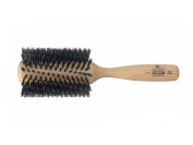 Kent Hairdressing Beech Wood Bristle Radial Hair Brush Styling Fringes - Large
