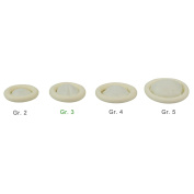 Med Comfort Latex Finger Cots, Powder Free Pack of 100 in 4 Sizes
