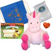 "New ""Star the Unicorn"" (No-Sew DIY Create-a-Plush Kit) a Beary Fun Friend in a Bag"