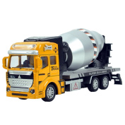 Xieccx 1:48 Diecast Pullback Car Construction Toy Vehicle For Kids(Cement Mixer Truck